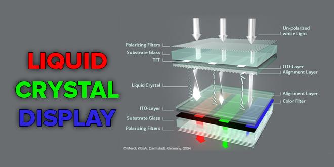 تحقیق درباره ساختار LCD