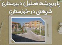 پاورپوینت تحلیل دبیرستان شریعتی خوزستان