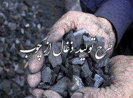 پروژه طرح شغلی تولید ذغال از چوب