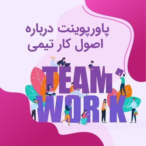 پاورپوینت درباره اصول کار تیمی Team Working